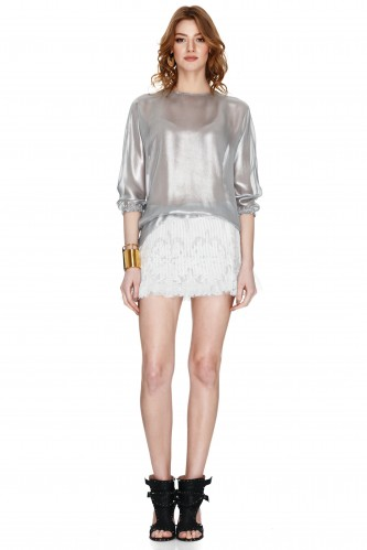 Silver Blouse - PNK Casual