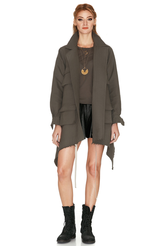 Army Green Jacket With
