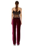 Fuchsia Velvet Pants