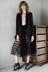 Black Virgin Wool Blazer