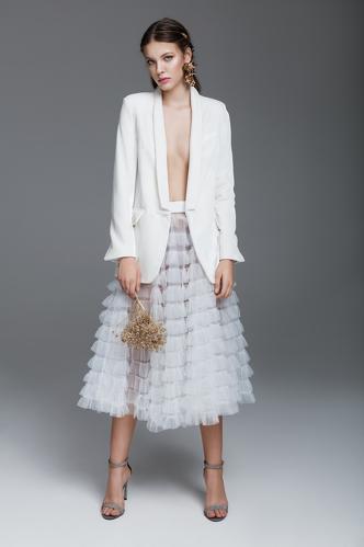 White Tulle Skirt - PNK Casual