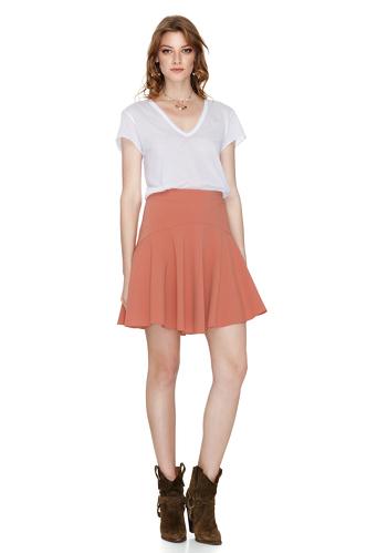 Peach Mini Skirt - PNK Casual