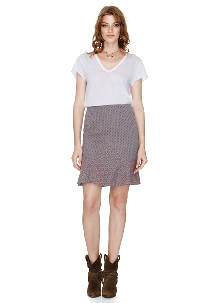 Lavender Mini Skirt