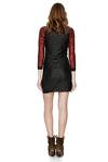 Black Sequins Mini Dress