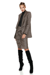 Classic Brown Wool Blazer