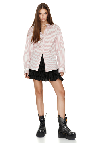 Cotton Striped Shirt - PNK Casual