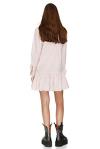 Cotton Striped Mini Dress