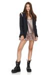 Striped Wool Jacket