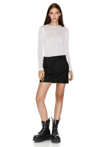 Jersey White Top - PNK Casual