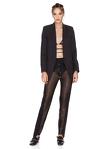 Black Sequins Pants