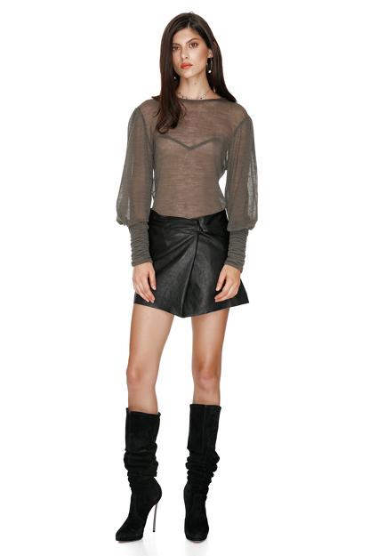 Kaki Wool Sweater