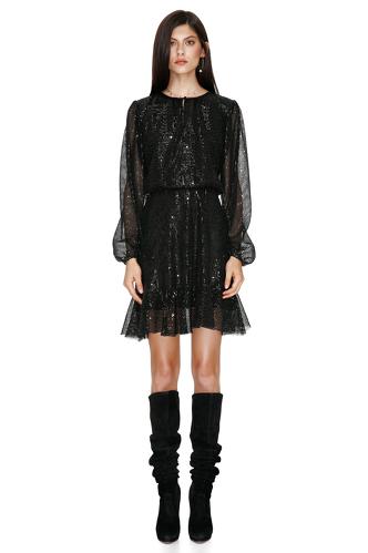 Black Sequins Dress - PNK Casual