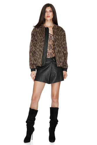 Leopard-print Jacket - PNK Casual