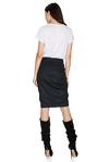 Black Ruffled Skirt