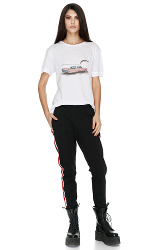 Black Track Pants - PNK Casual