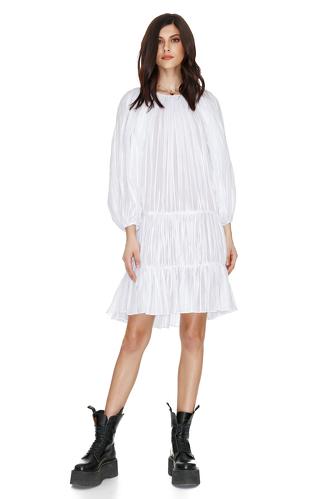 White Short Boho Dress - PNK Casual