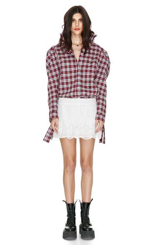 Cotton checkered shirt - PNK Casual