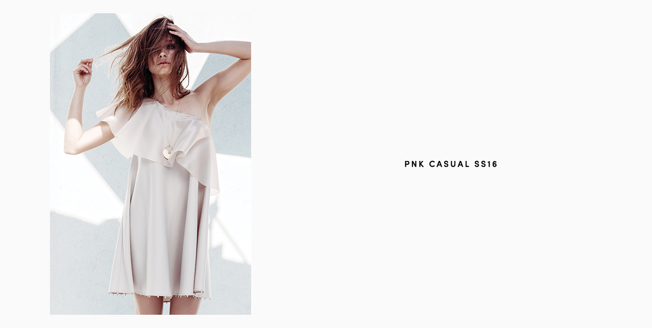 PNK casual Spring/Summer 2016 Collection - Limited Edition - 10