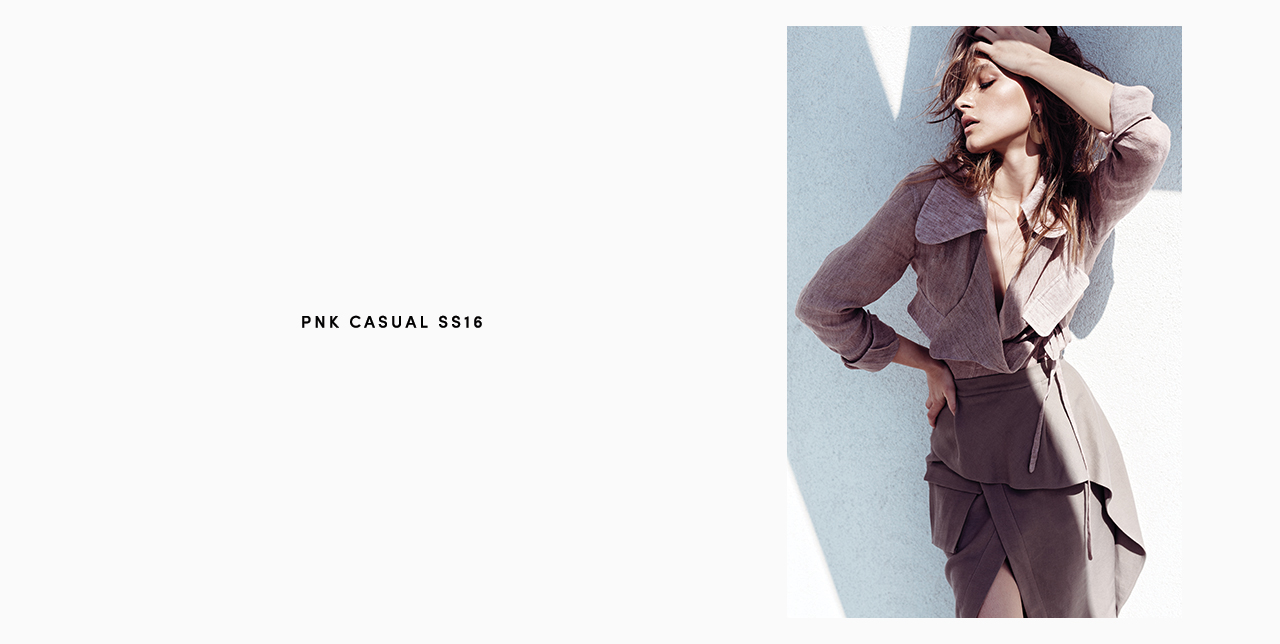 PNK casual Spring/Summer 2016 Collection - Limited Edition - 32