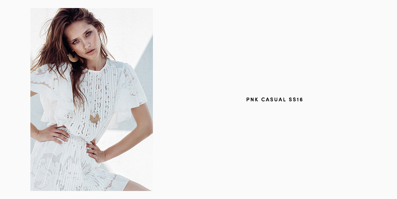 PNK casual Spring/Summer 2016 Collection - Limited Edition - 8