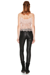 Rose Chantilly Lace Top