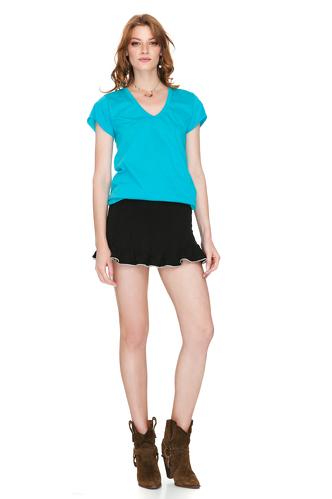 Turquoise Basic Tshirt - PNK Casual
