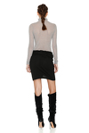 Grey Wool Turtleneck Sweater