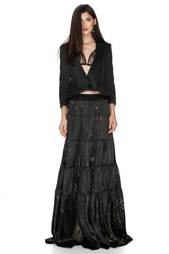 Black Cotton Jacket - PNK Casual