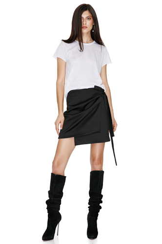 Black Mini Skirt - PNK Casual