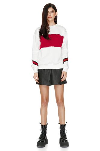 Cotton Blend Sweatshirt - PNK Casual