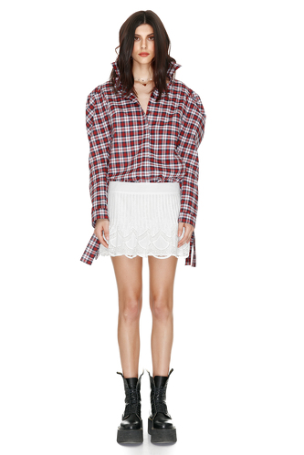 Cotton checkered shirt - PNK Casual