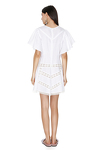 Mini Linen White Dress