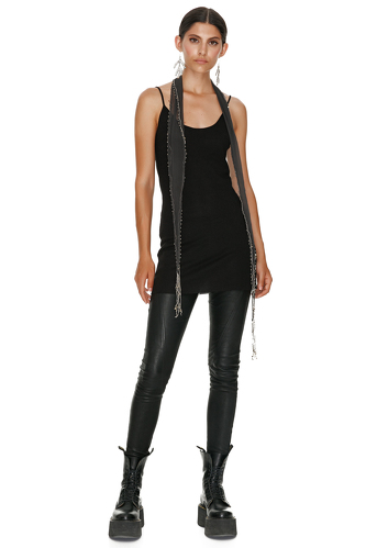 Ribbed Black Tank - PNK Casual