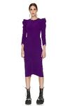 Slimming Effect Midi Dress