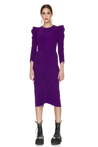 Slimming Effect Midi Dress - PNK Casual