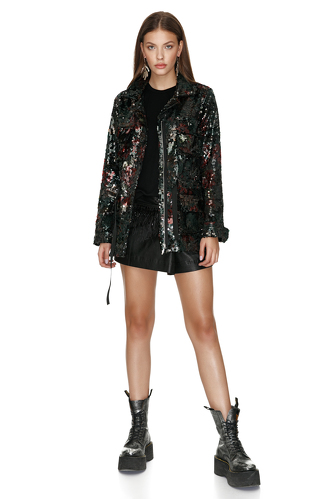 Multicolor Sequin Jacket - PNK Casual