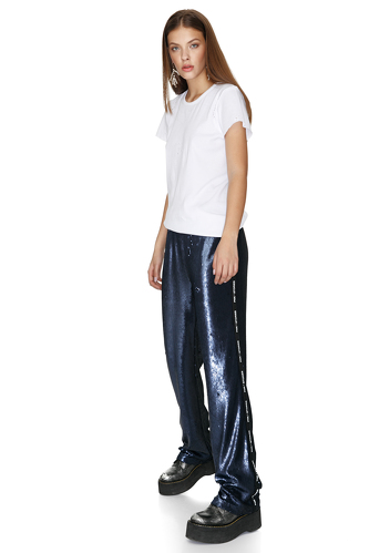 Bleumarine Sequin Pants - PNK Casual