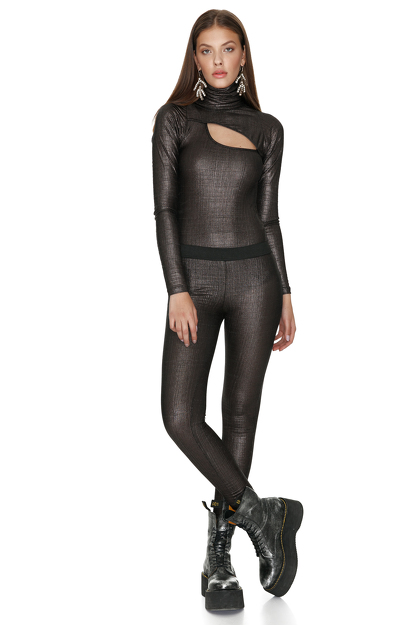 Black Glossy Pants