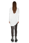 White Oversized Cotton Top