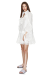 White Bohemian Cotton Lace Dress