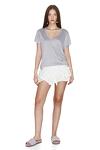 Grey Viscose T-shirt