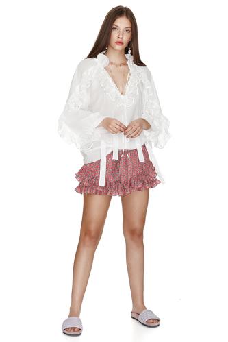Printed Silk Shorts - PNK Casual