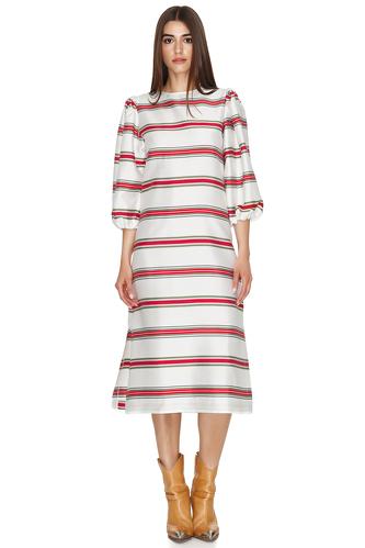 Striped Midi Dress - PNK Casual