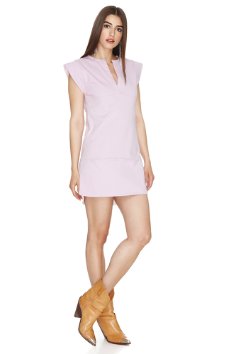 Lavender Mini Dress - PNK Casual