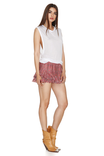 Cotton White Top - PNK Casual