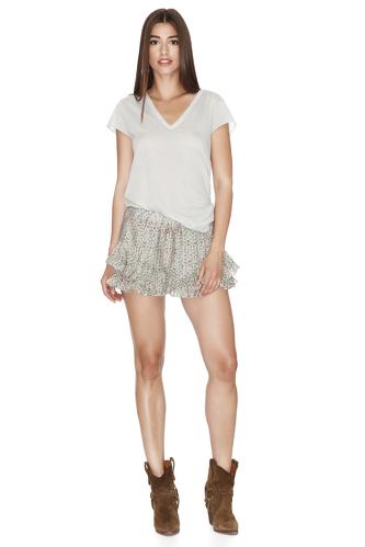 Grey Prime Cotton T-shirt - PNK Casual