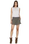 Army Green Boho Shorts
