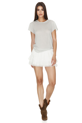 Grey Basic T-shirt - PNK Casual
