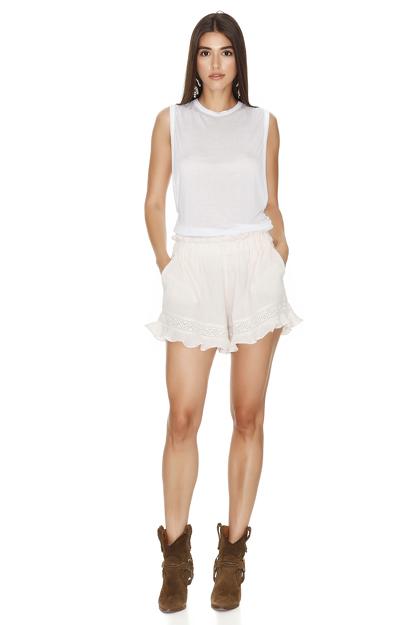Light Rose Boho Shorts