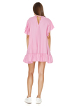 Pink Oversized Wool Mini Dress